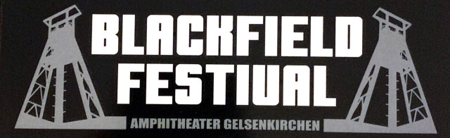 Blackfield Festival - Blackfield Sticker | neuwerk Music Management