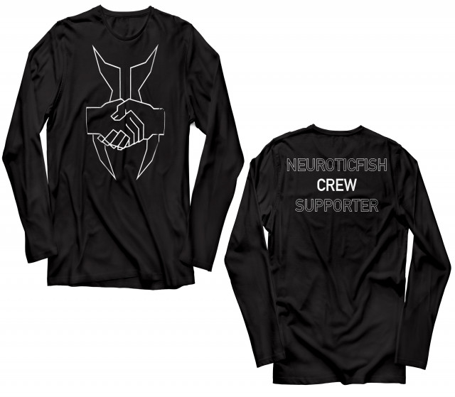 Neuroticfish - Crew Supporter Longsleeve Ltd. | neuwerk Music Management