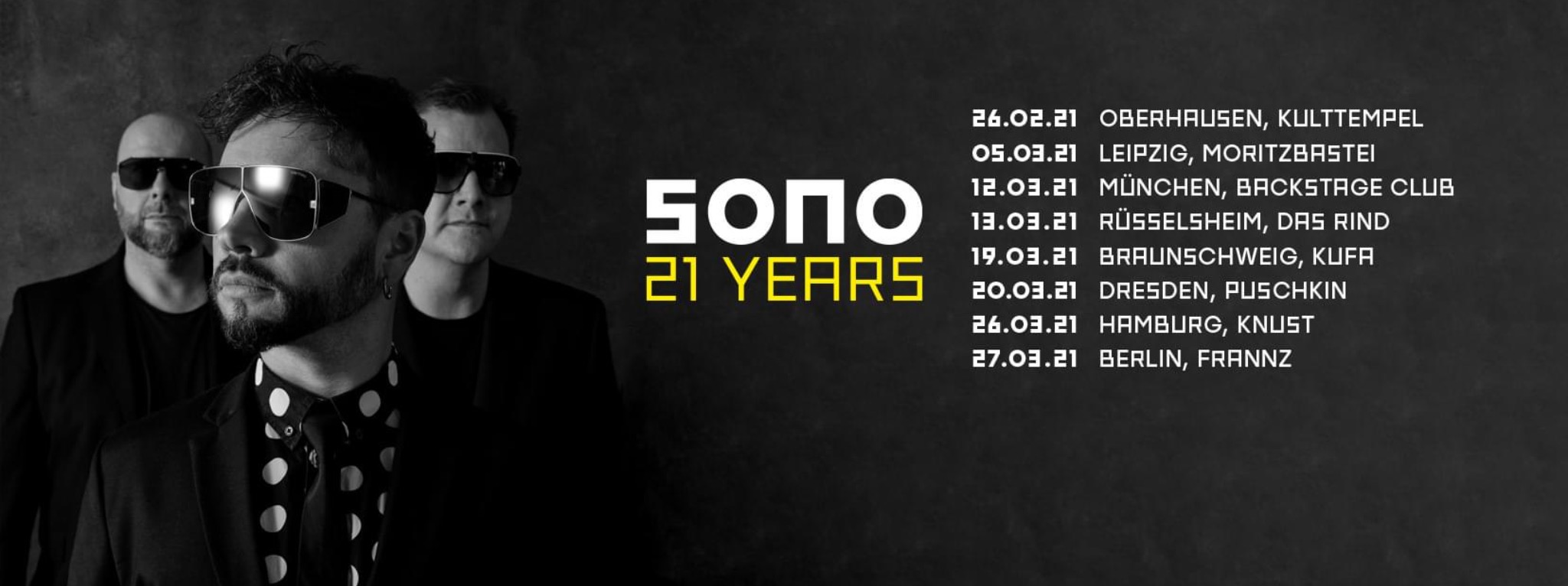 SONO - 21 Years