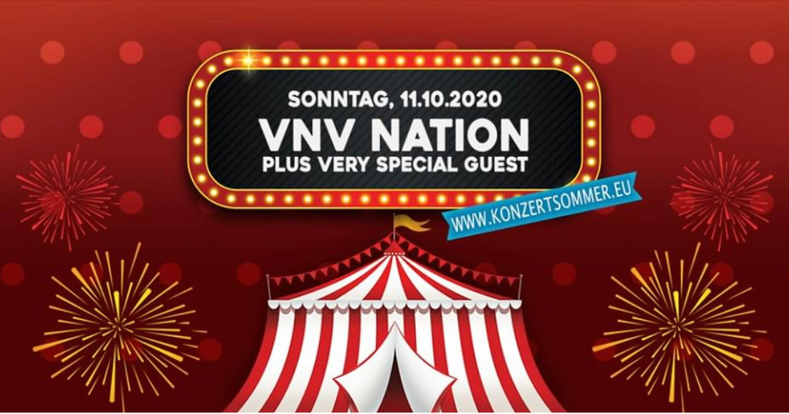 Konzertsommer im Revier: VNV Nation plus very special guest